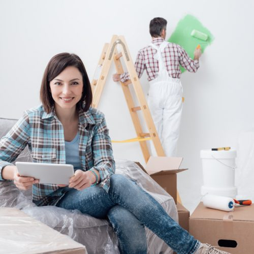 Getting Quote for Interior Painting